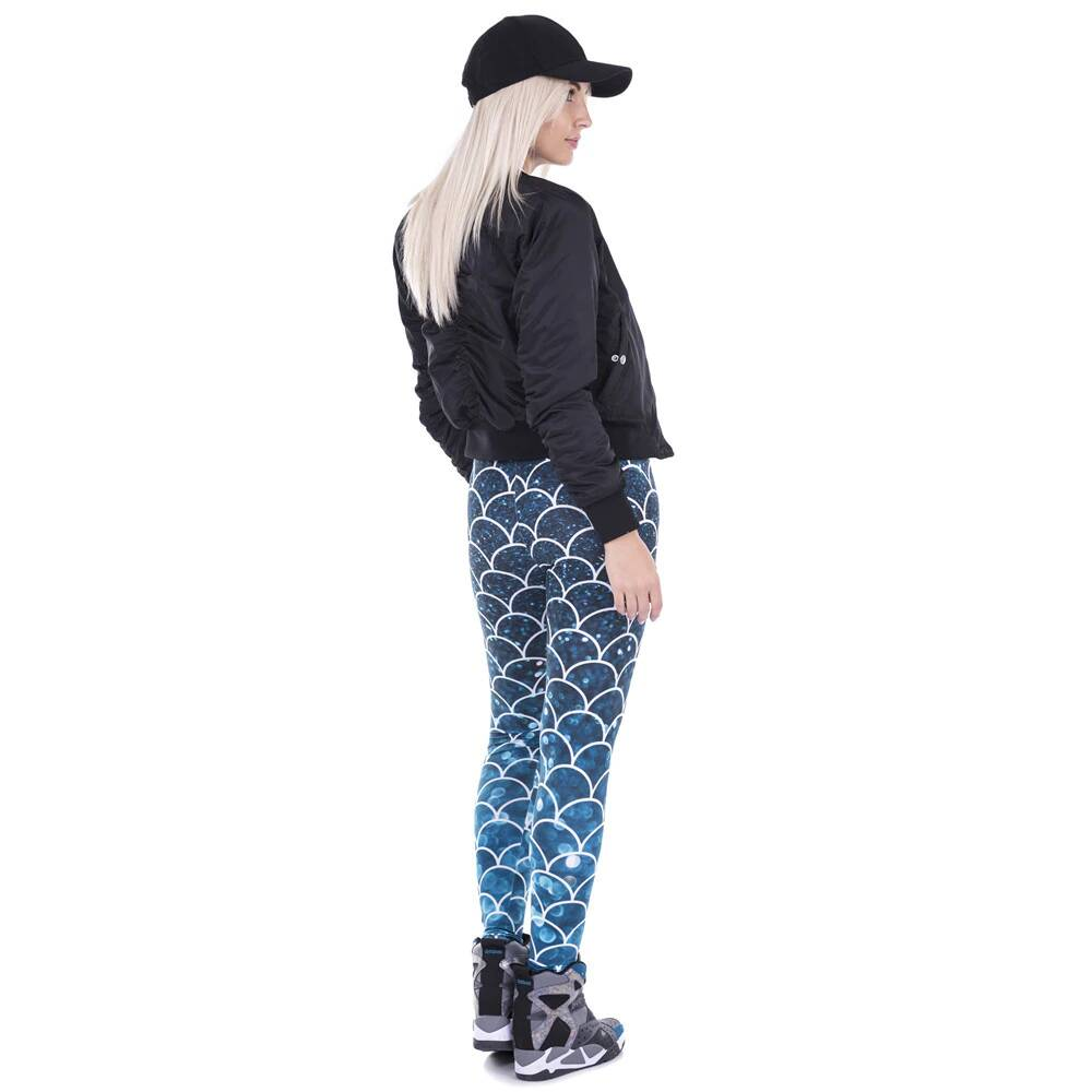 Mermaid | Printed Leggings
