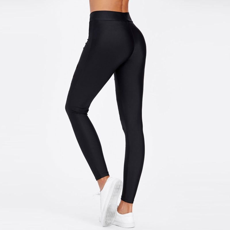MeshRips | Black Ripped Mesh Leggings