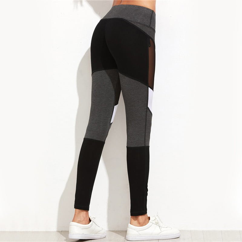 MPanel | Black Mesh Leggings
