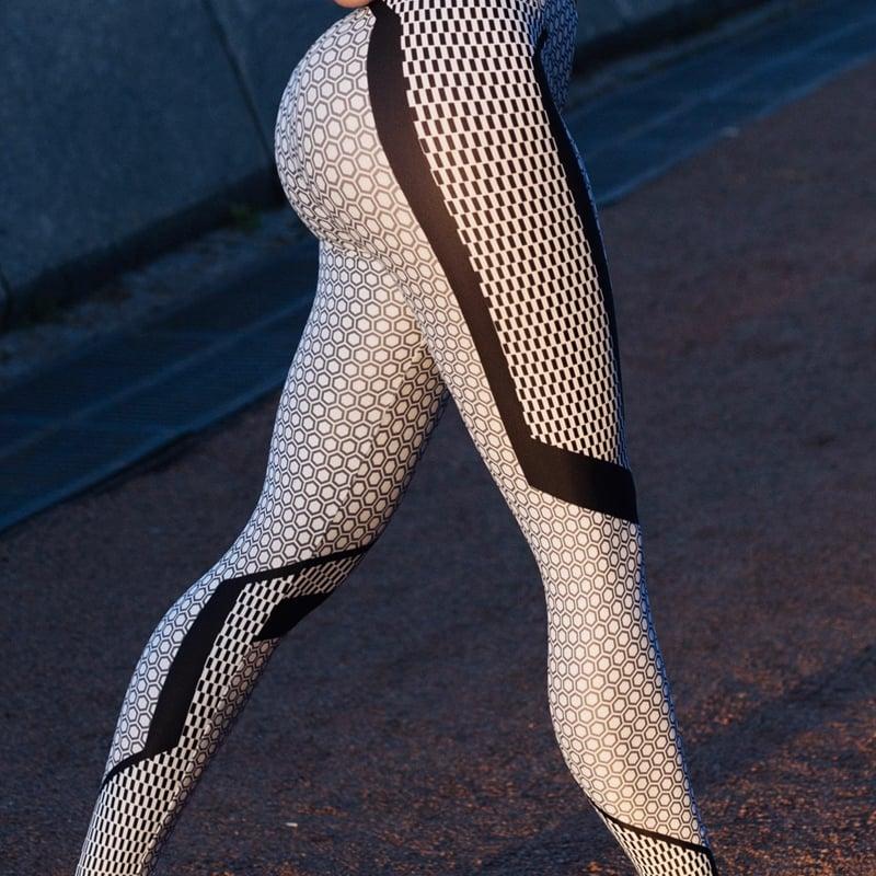 Honeycomb | Leggings imprimés