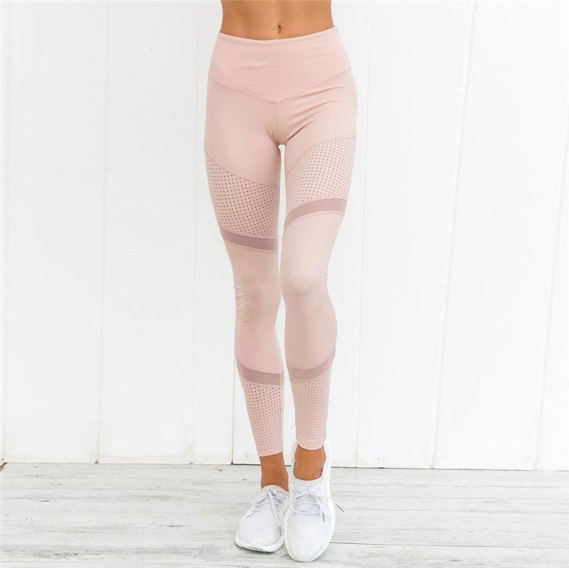 Windy | Leggings Mesh rose