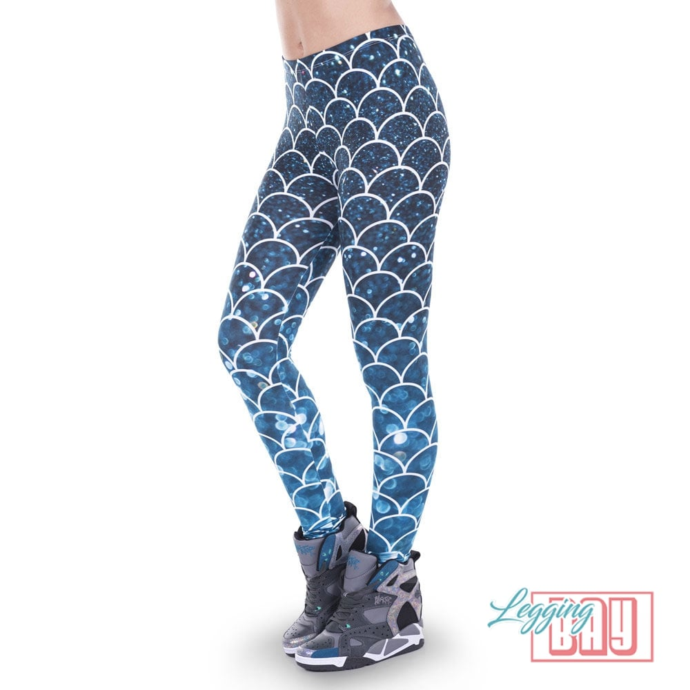 Mermaid | Printed Leggings