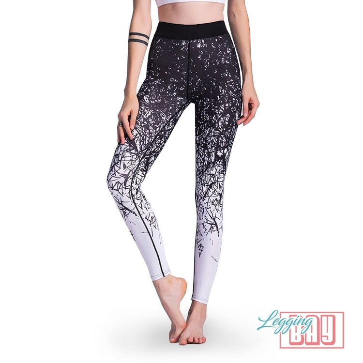 Jamming | Yoga Printed Leggings