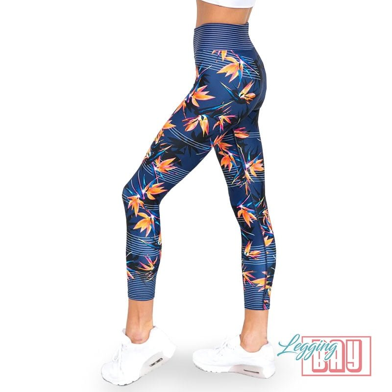 WaterLily | Colorful Printed 7/8 Leggings