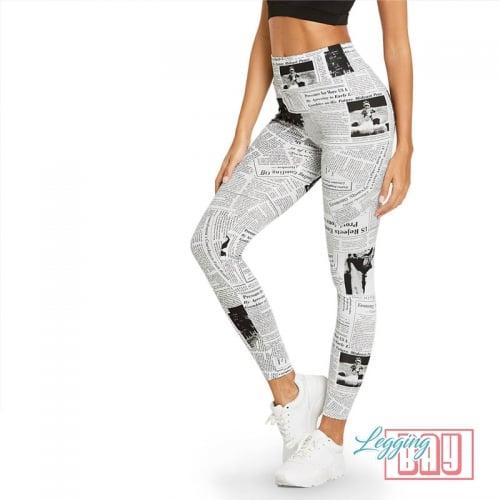 Press | Printed Leggings