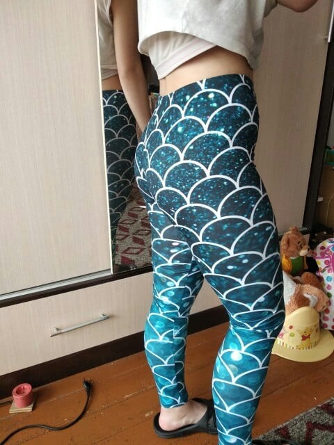 Mermaid | Printed Leggings photo review