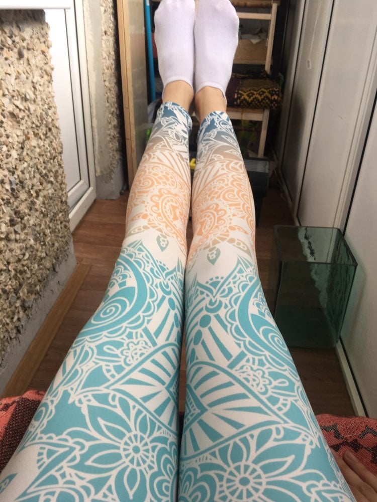 Kilkor | Leggings imprimés Mandala photo review