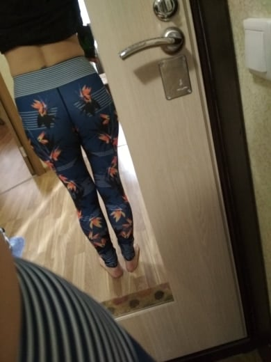 WaterLily   Colorful Printed 7/8 Leggings photo review