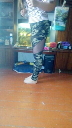 AirCamo | Leggings Mesh imprimés camouflage photo review