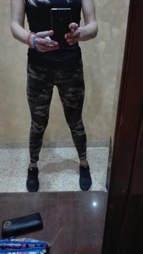AirCamo | Camo Mesh Printed Leggings photo review